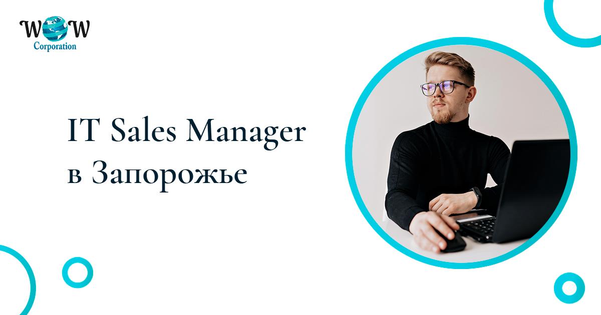 Вакансия: IT Sales Manager (Запорожье)